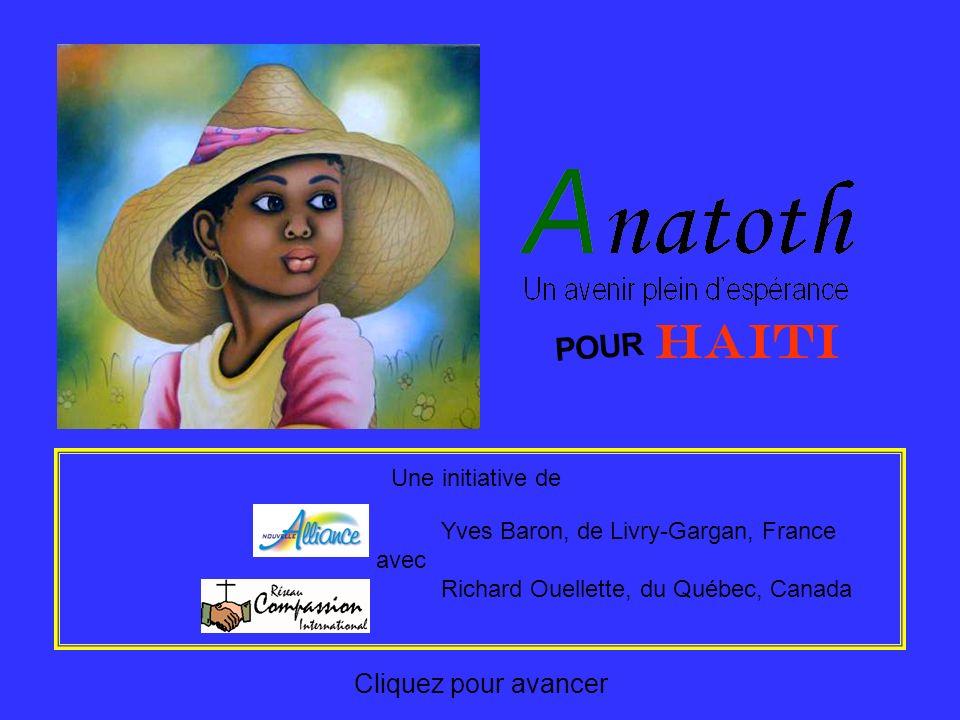 HAITI POUR Cliquez pour avancer Une initiative de