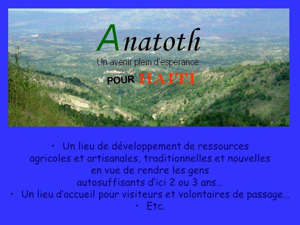 HAITI POUR Un lieu de développement de ressources