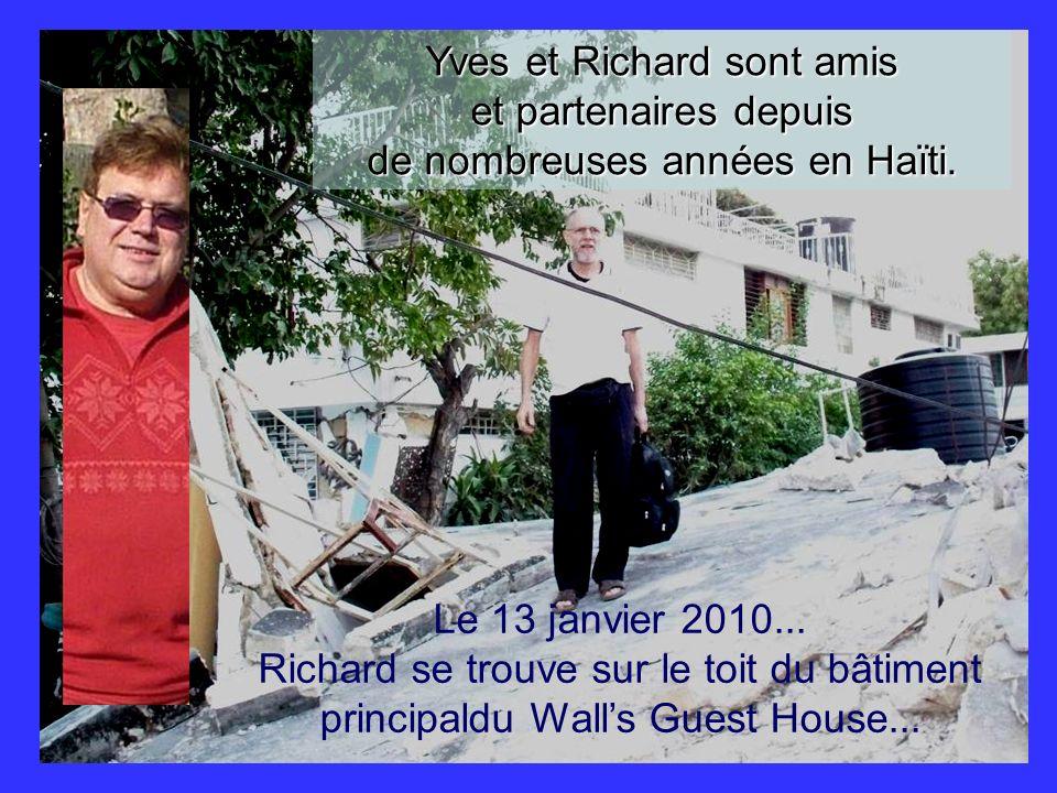 Yves et Richard sont amis et partenaires depuis