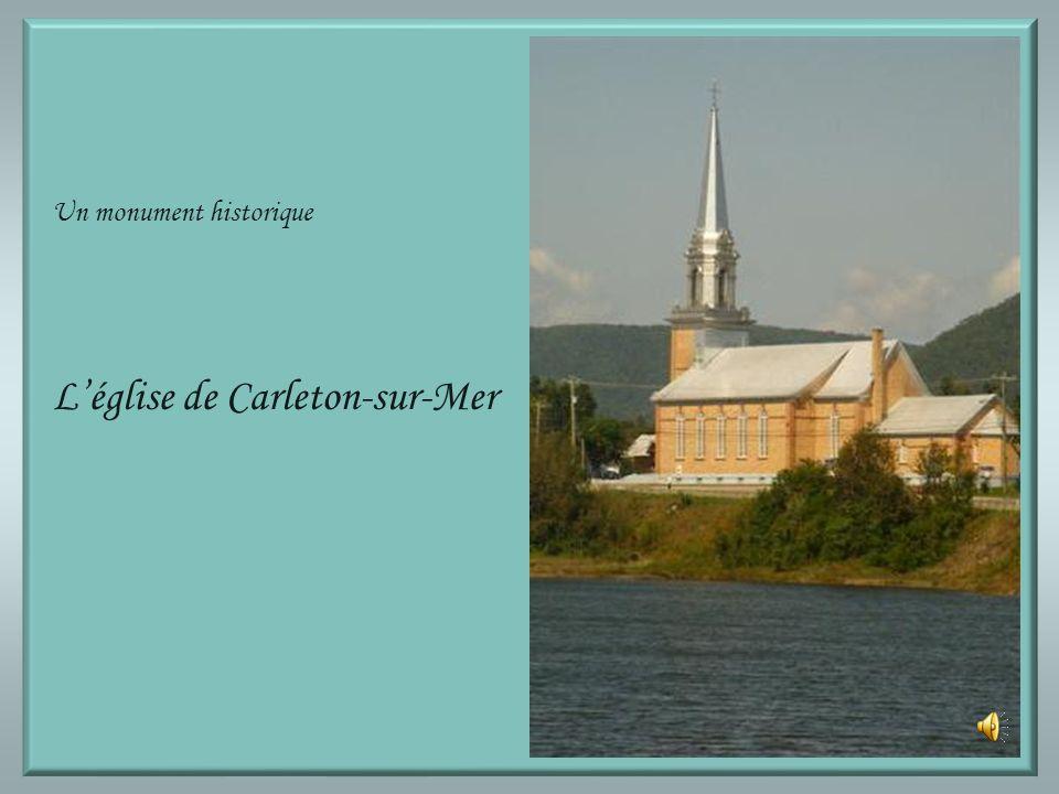 L'église de Carleton-sur-Mer