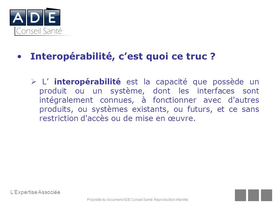 Interopérabilité, c'est quoi ce truc