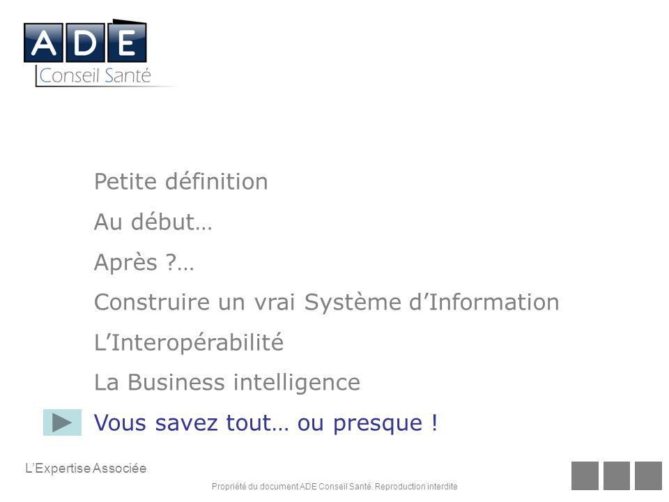 Construire un vrai Système d'Information L'Interopérabilité