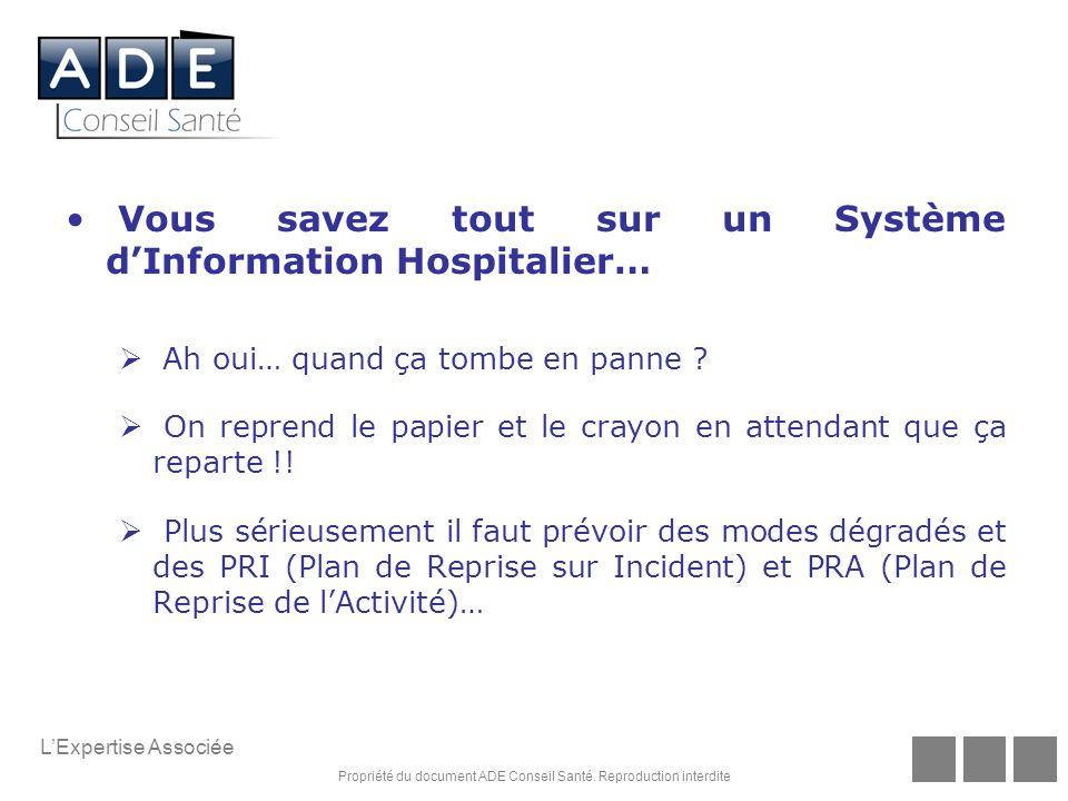 Vous savez tout sur un Système d'Information Hospitalier…