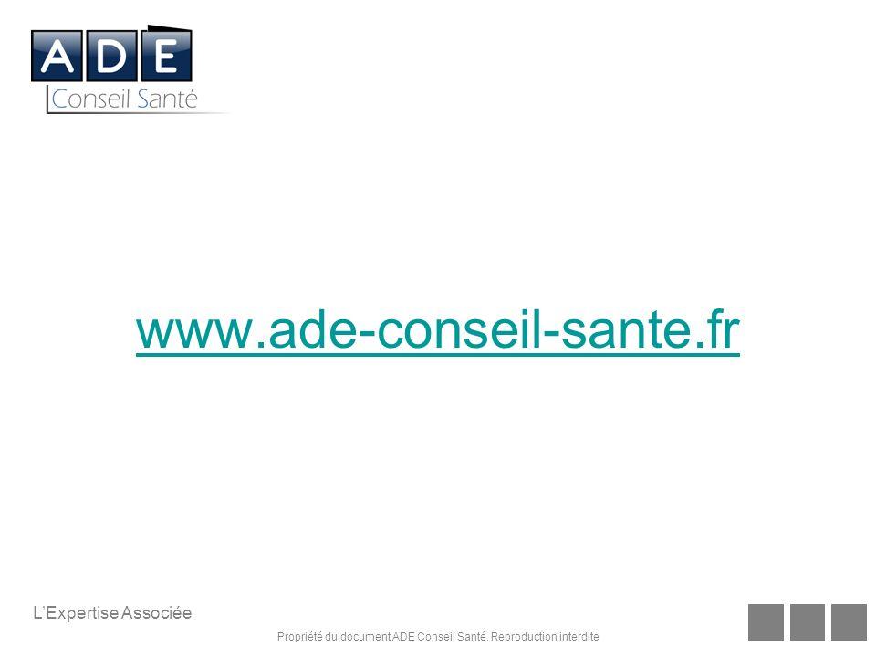 www.ade-conseil-sante.fr L'Expertise Associée