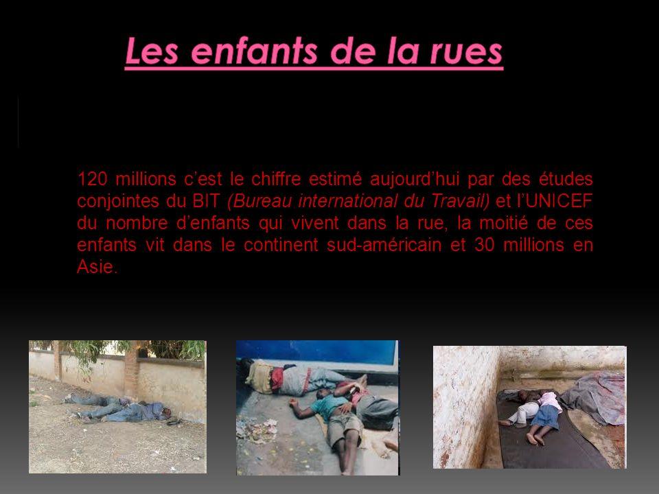120 millions d enfants dans la rue :