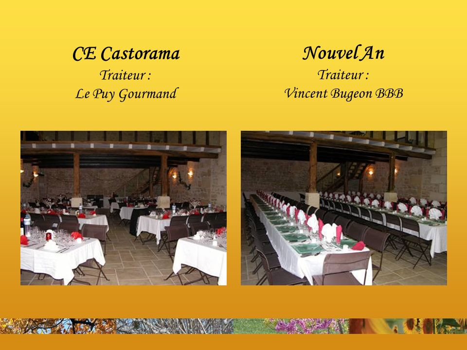 CE Castorama Traiteur : Le Puy Gourmand