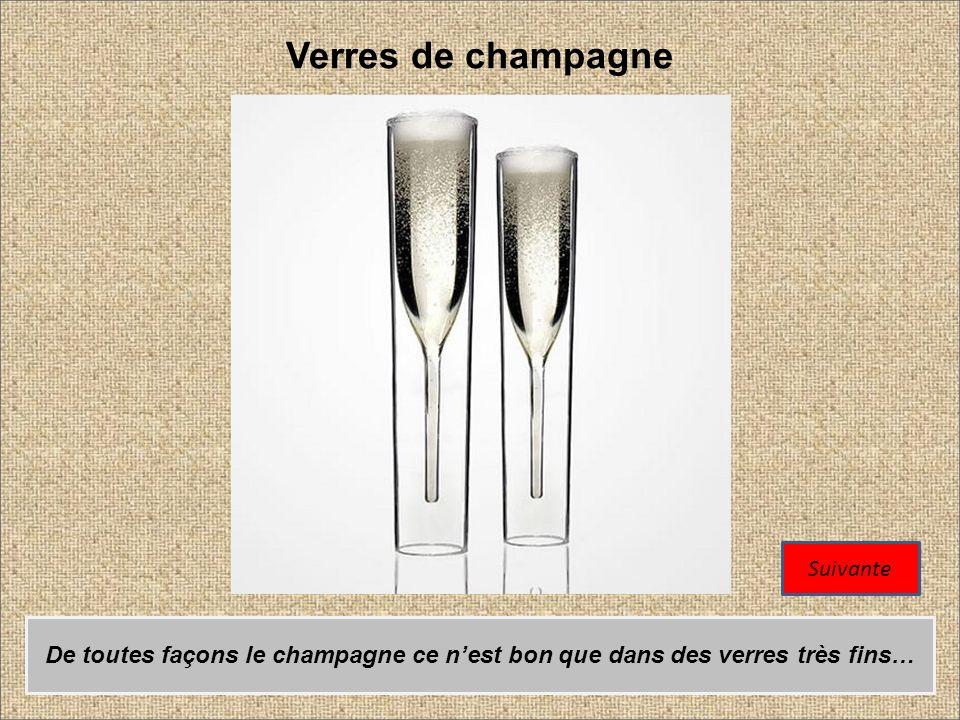 Verres de champagne Suivante