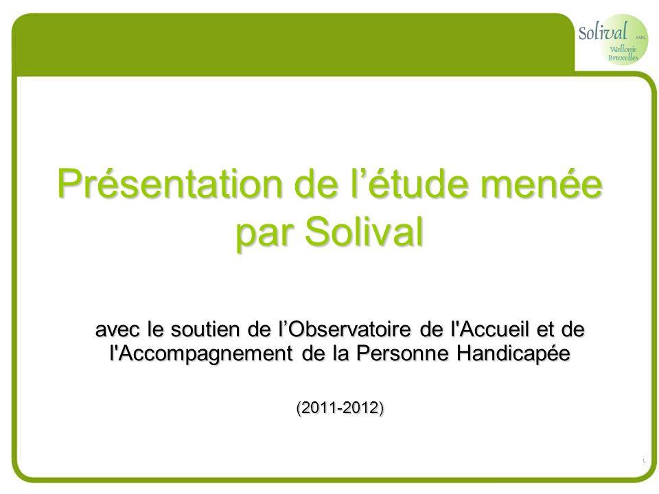 Présentation de l'étude menée par Solival