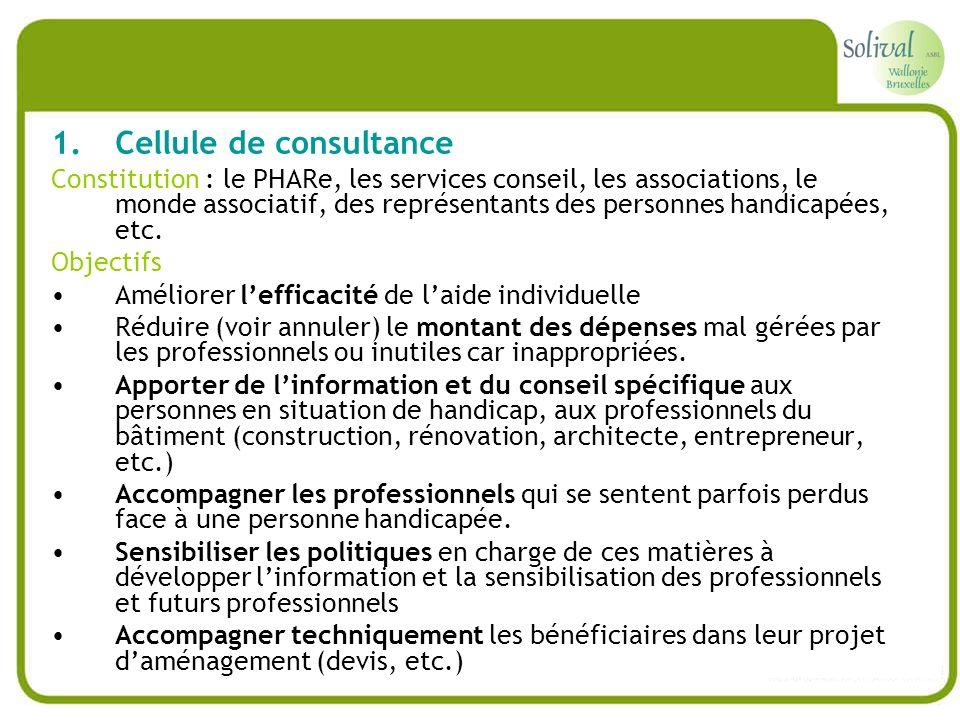 Cellule de consultance