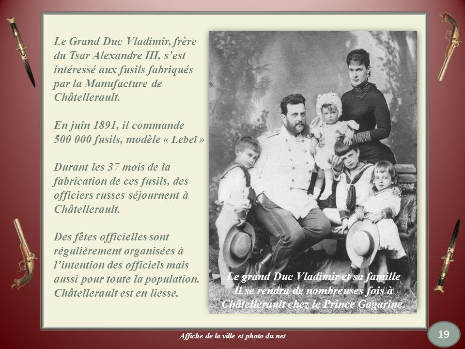 Le grand Duc Vladimir et sa famille