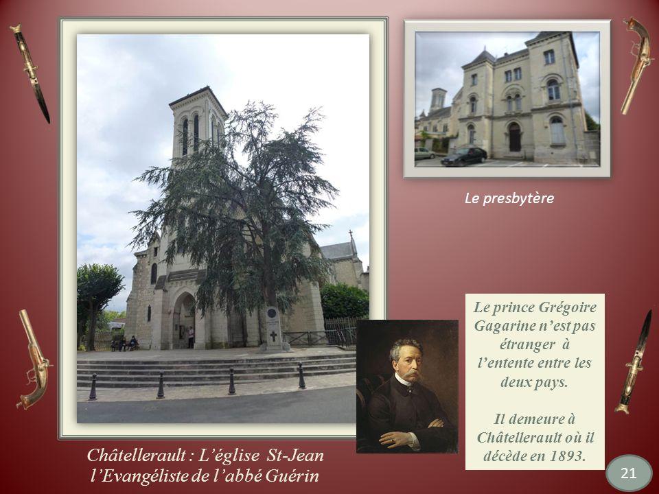 Châtellerault : L'église St-Jean l'Evangéliste de l'abbé Guérin