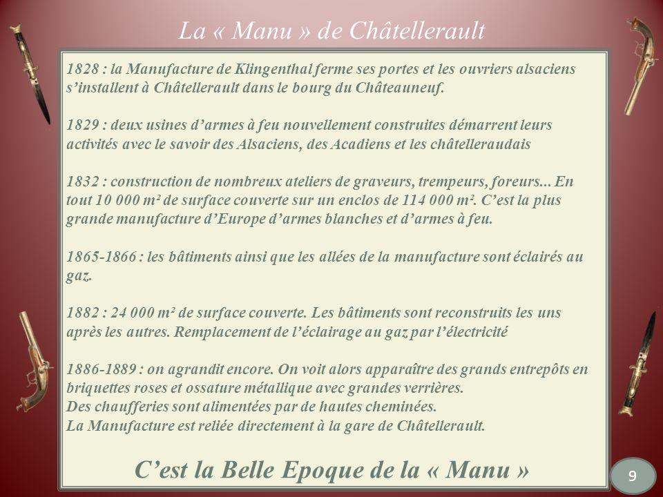 La « Manu » de Châtellerault