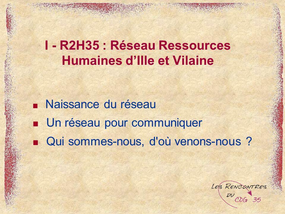 I - R2H35 : Réseau Ressources Humaines d'Ille et Vilaine