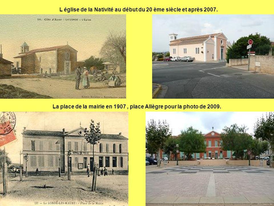 L église de la Nativité au début du 20 ème siècle et après 2007.