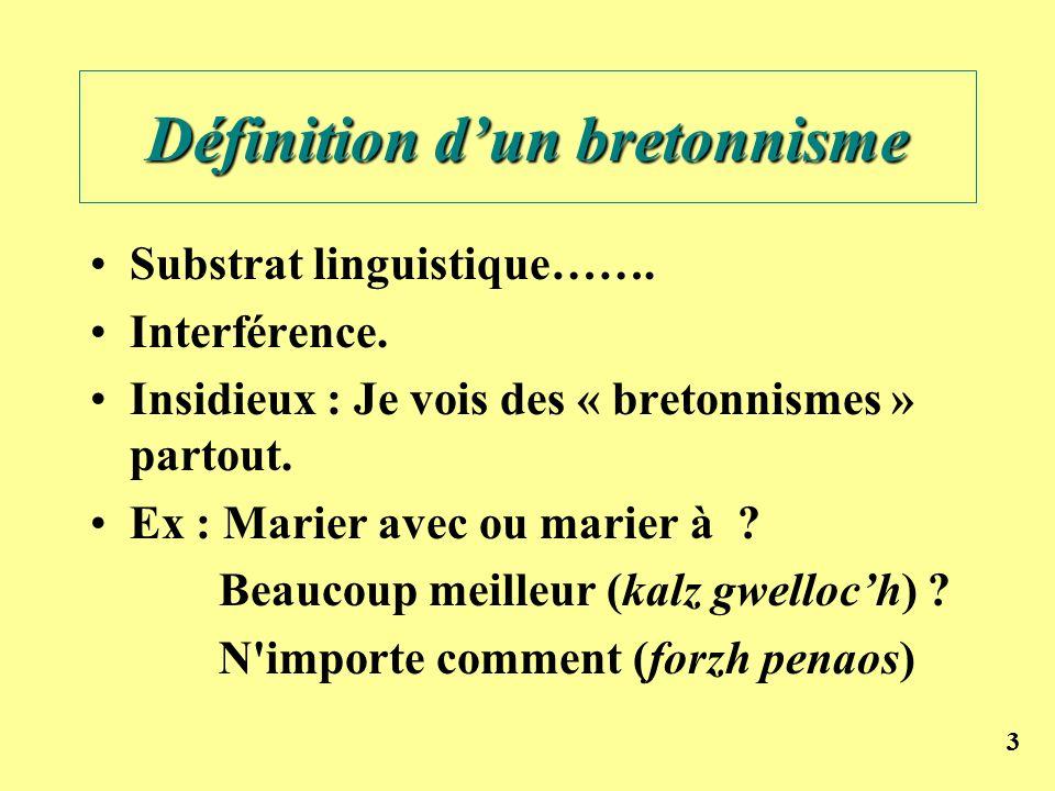 Définition d'un bretonnisme