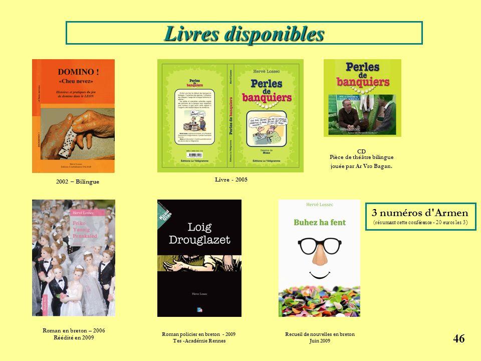 Roman policier en breton - 2009 Recueil de nouvelles en breton