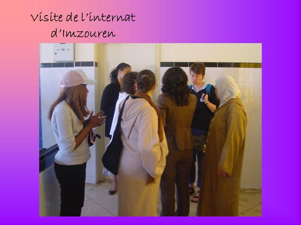 Visite de l'internat d'Imzouren