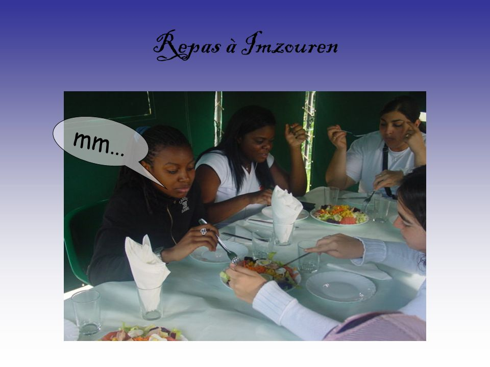 Repas à Imzouren mm…