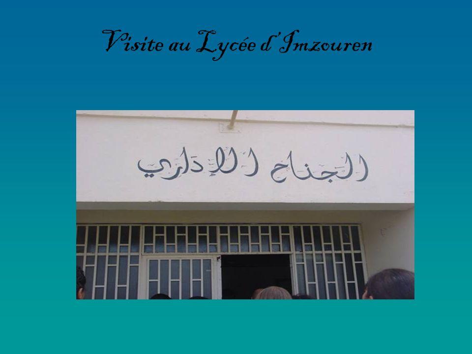 Visite au Lycée d'Imzouren