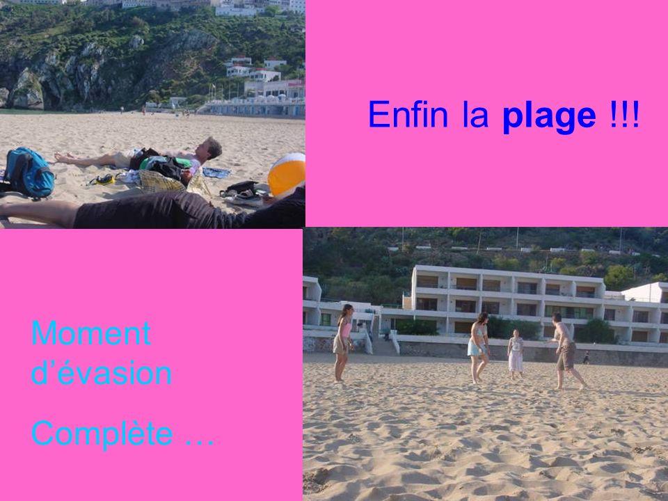 Enfin la plage !!! Moment d'évasion Complète …