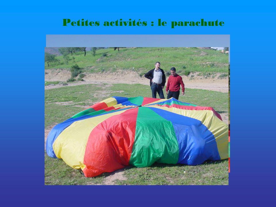 Petites activités : le parachute