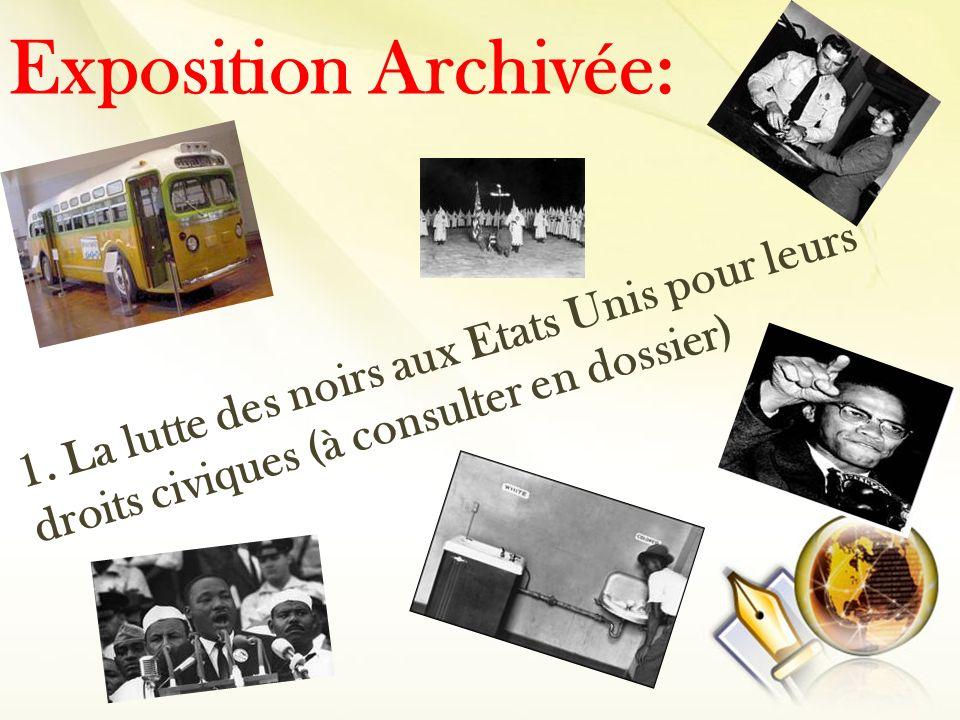 Exposition Archivée: 1.