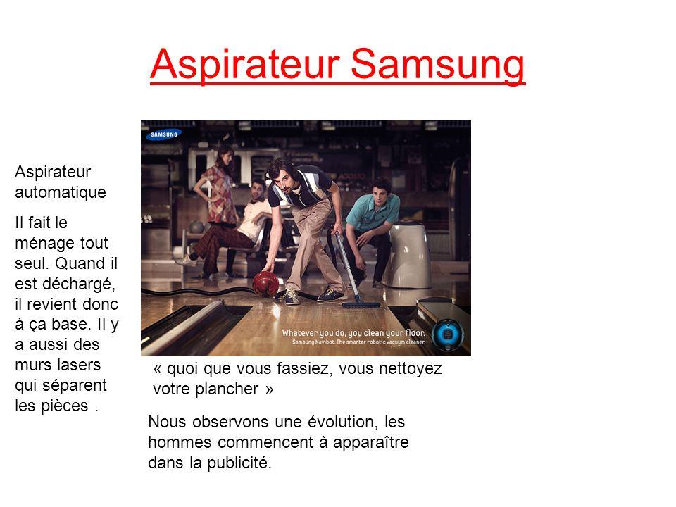 Aspirateur Samsung Aspirateur automatique
