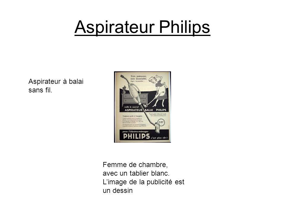 Aspirateur Philips Aspirateur à balai sans fil.
