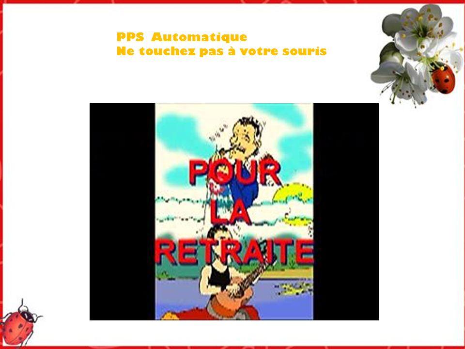 PPS Automatique Ne touchez pas à votre souris