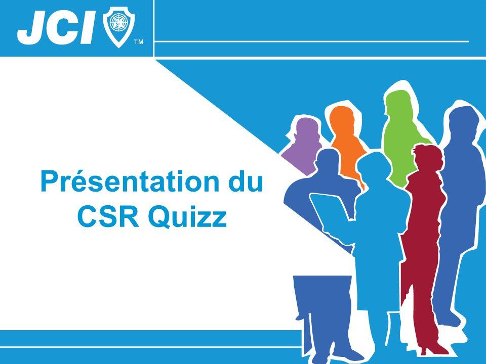 Présentation du CSR Quizz