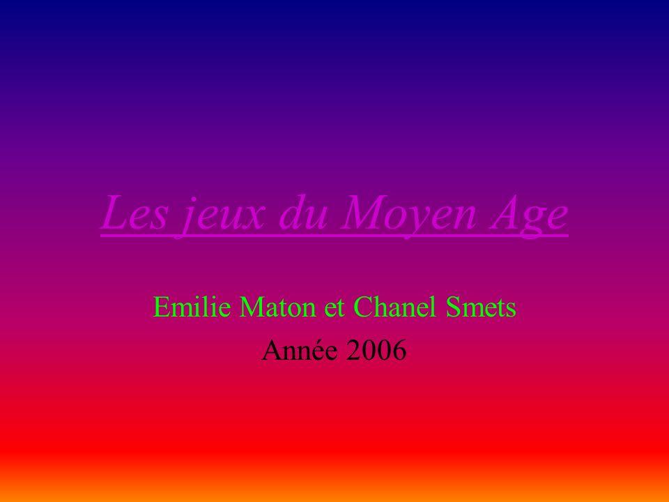 Emilie Maton et Chanel Smets Année 2006