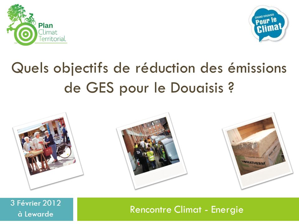 Rencontre Climat - Energie