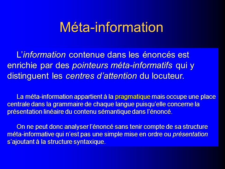 Méta-information