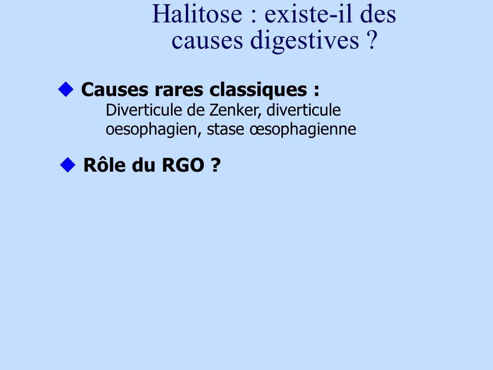 Halitose : existe-il des causes digestives