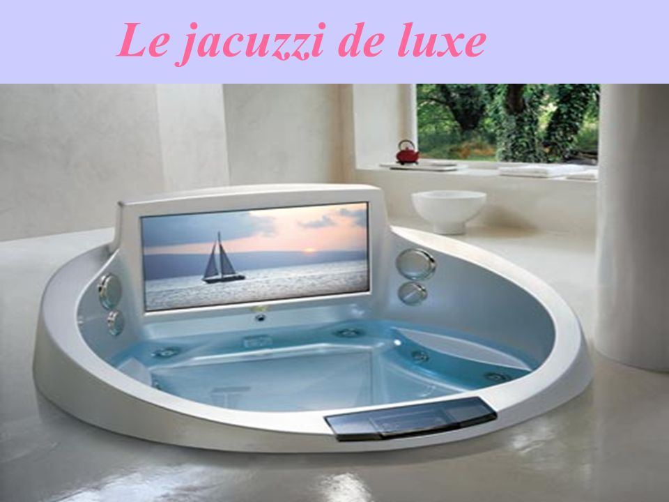 Le jacuzzi de luxe