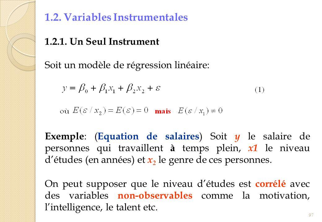 1.2. Variables Instrumentales