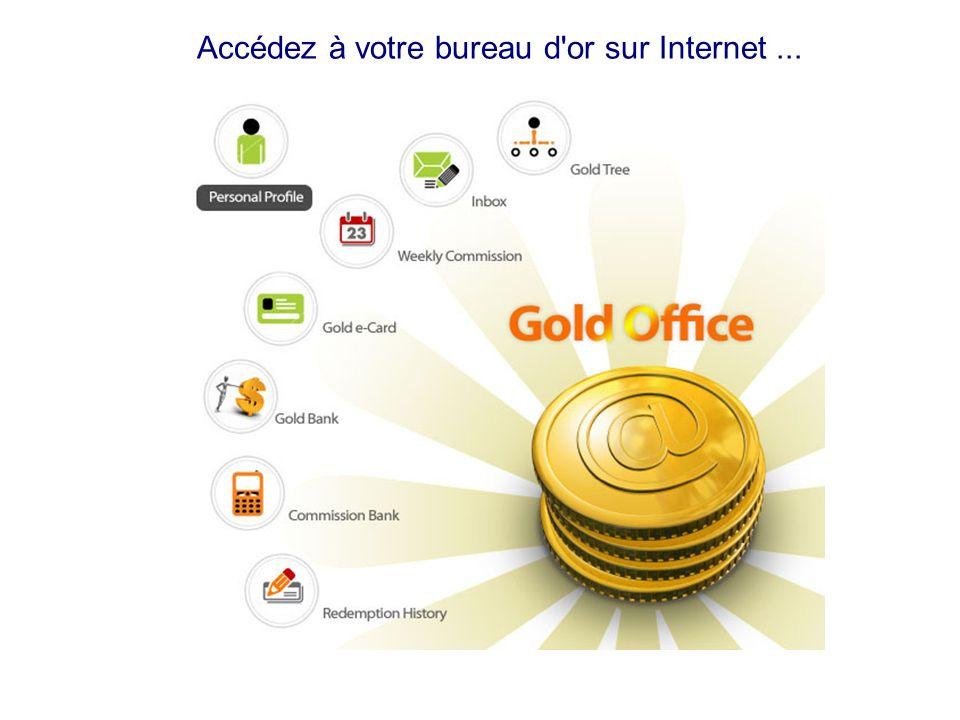 Accédez à votre bureau d or sur Internet ...