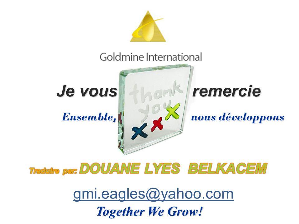 Ensemble, nous développons Traduire par: DOUANE LYES BELKACEM