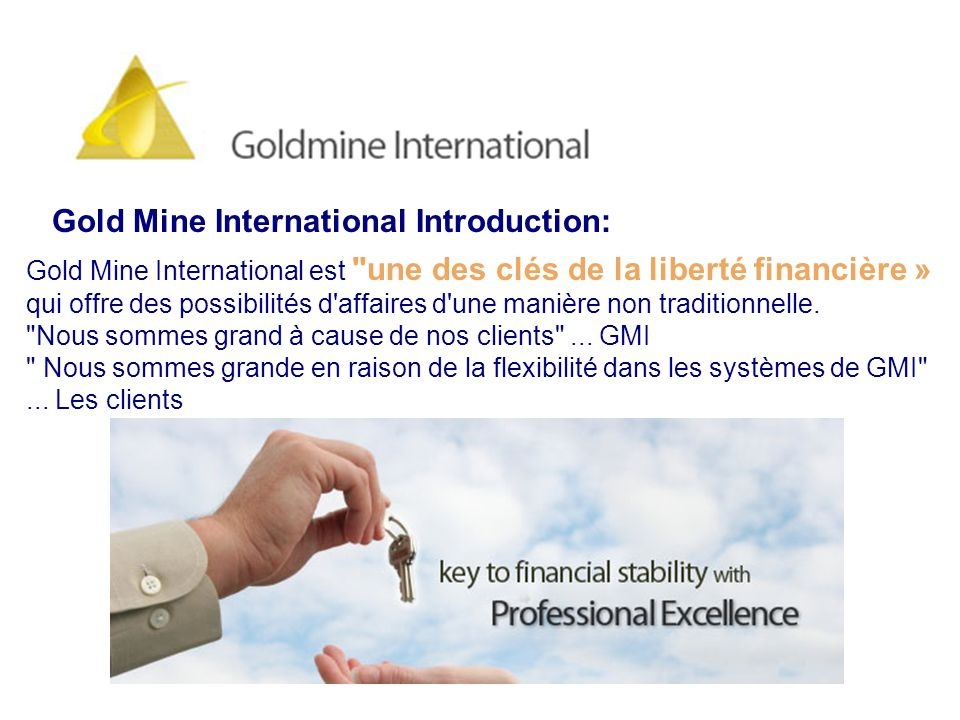 Gold Mine International Introduction: