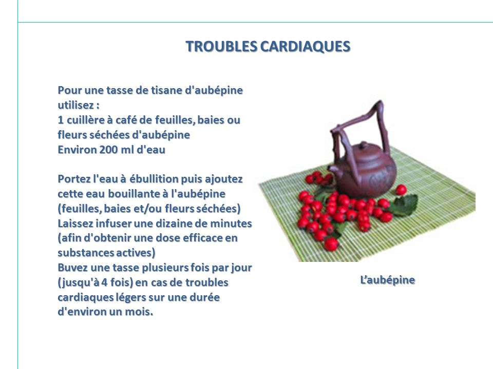 TROUBLES CARDIAQUES