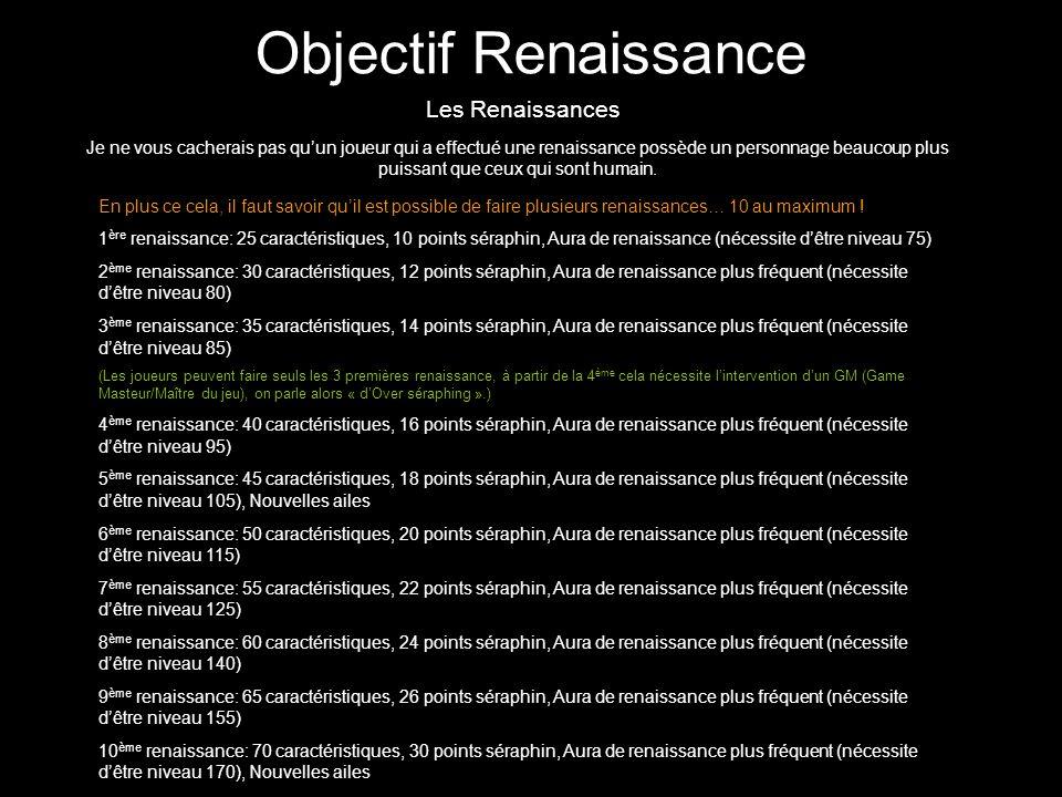 Objectif Renaissance Les Renaissances