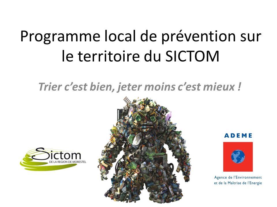 Programme local de prévention sur le territoire du SICTOM