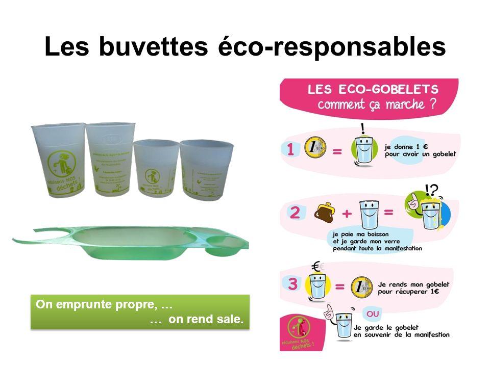 Les buvettes éco-responsables