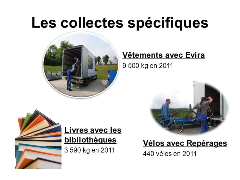 Les collectes spécifiques