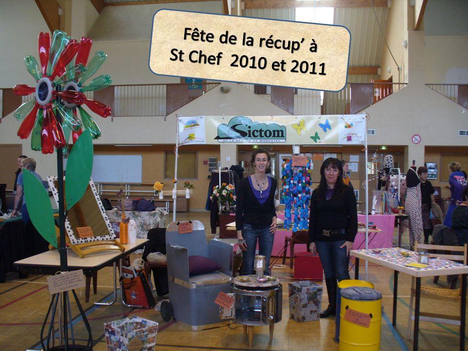 Fête de la récup' à St Chef 2010 et 2011