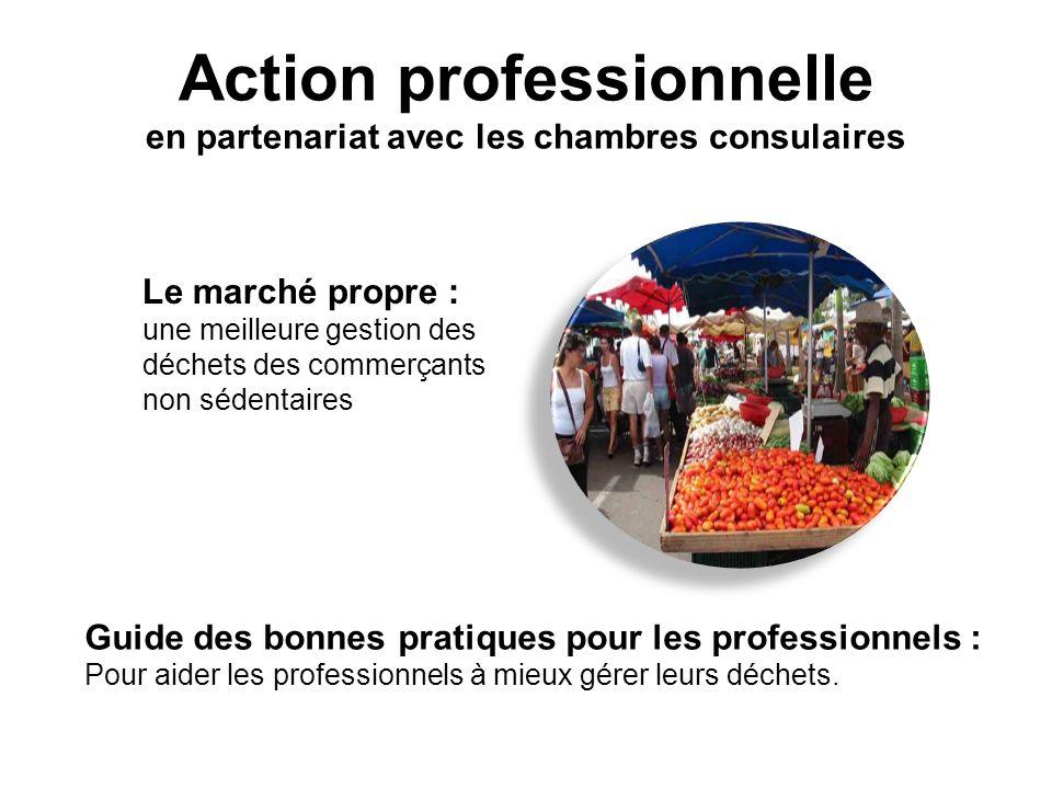 Action professionnelle en partenariat avec les chambres consulaires