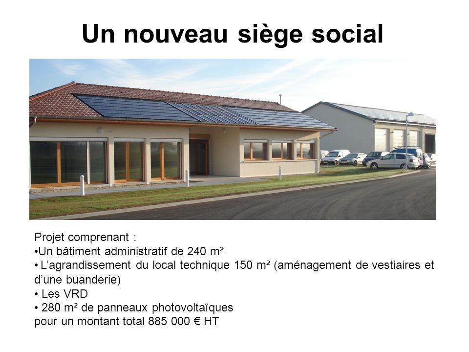 Un nouveau siège social