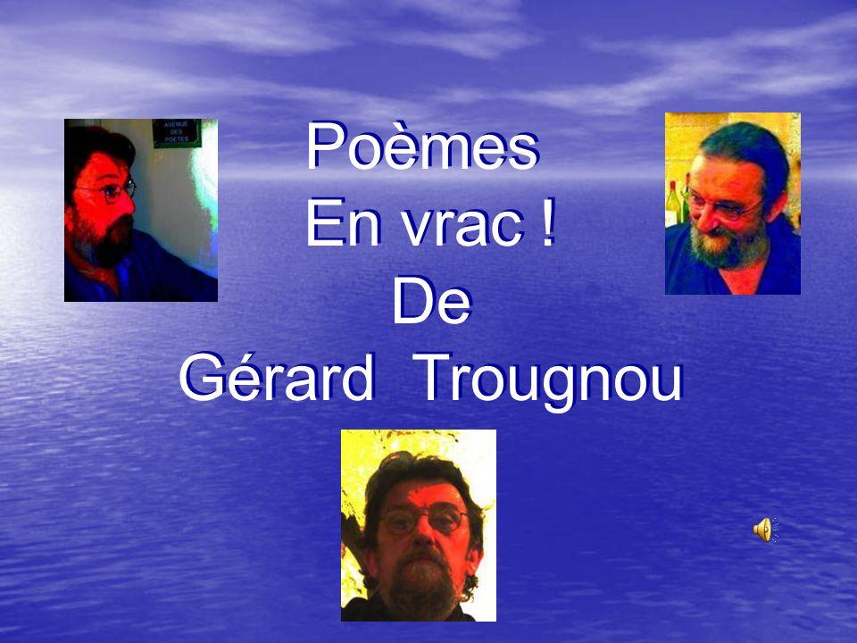 Poèmes En vrac ! De Gérard Trougnou