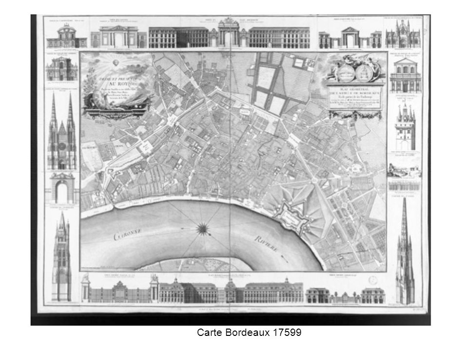 Carte Bordeaux 17599