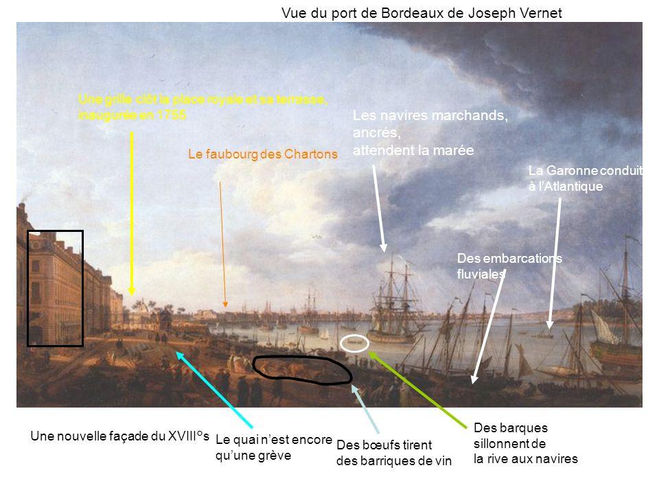 Vue du port de Bordeaux de Joseph Vernet